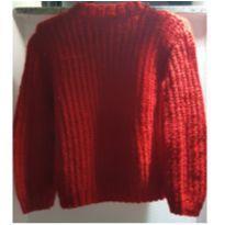 Blusa de tricot feita à mão - 8 anos - Sem marca