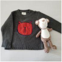 Blusa de Lã - 12 a 18 meses - Teddy Boom