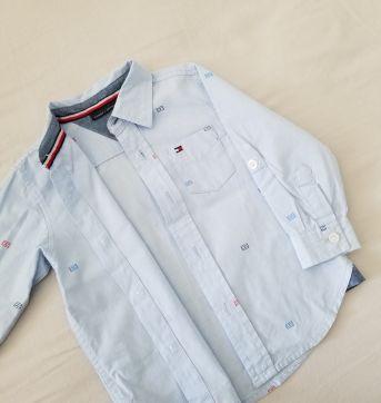 Camisa Linda da Tommy - 18 meses - Tommy Hilfiger