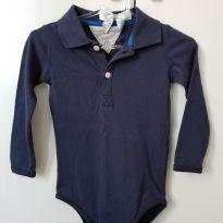 Body Polo - 9 meses - Tommy Hilfiger