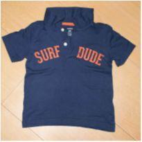 Camiseta Polo Carter`s - 2 anos - Carter`s