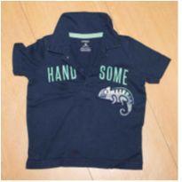 Camiseta Polo Carter`s - 18 meses - Carter`s