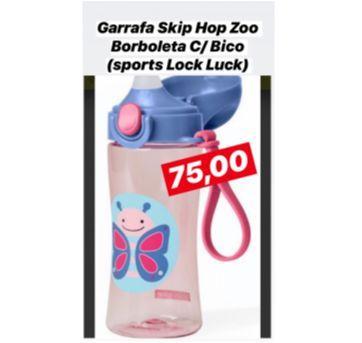 Garrafa com Bico e trava Skip Hop Zoo borboleta - Sem faixa etaria - Skip Hop