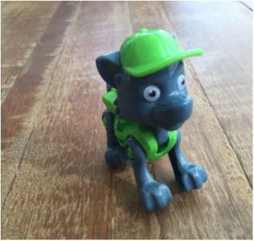Kit com 2 Bonequinhos Articuláveis - Patrulha Canina - Sem faixa etaria - Não informada