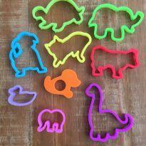 Kit Forminhas para Massinha de Modelar Play Doh - Animaizinhos -  - Hasbro