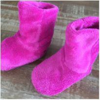 Pantufa Infantil Pink - Modelo Botinha - 27 - Não informada