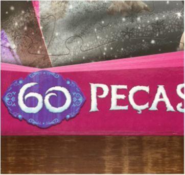 Quebra-Cabeça Disney Frozen - 60 peças - Sem faixa etaria - Grow
