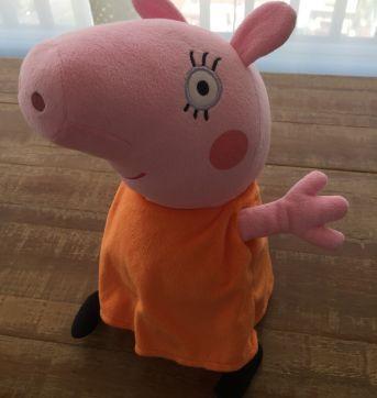 Família Peppa Pig - 4 pelúcias - Sem faixa etaria - One2play