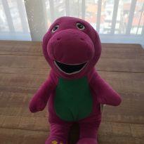 Barney pelúcia - Turma do Barney -  - Multibrink