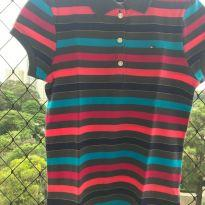Camiseta Polo - 10 anos - Tommy Hilfiger