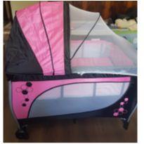 Berço Desmontável Baby Style Musical Rosa -  - Baby Style
