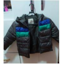 Jaqueta de nylon cinza - 4 anos - Palomino