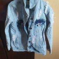 Jaqueta jeans - 10 anos - Miss Fifteen