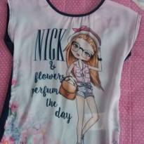 Blusa Nick decote nas costas - 1 ano - Nick