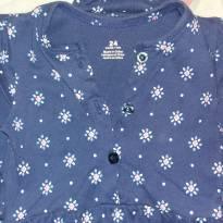 Vestido Carters Azul Escuro - 18 a 24 meses - Carters - Sem etiqueta