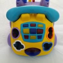 Brinquedo Fala Fone Calesita -  - Calesita