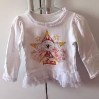 Blusa manga longa Lilica Ripilica - 18 a 24 meses - Lilica Ripilica