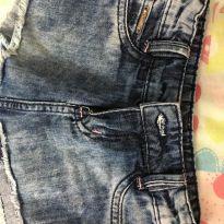 Short saia jeans crawling - 2 anos - Crawling