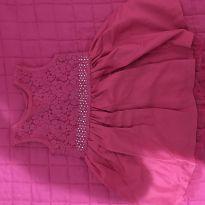 Vestido festa Kuka Lelé rosa - 4 anos - kuka lelé