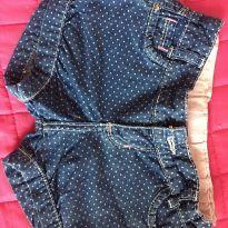 Short jeans bolinha - 3 anos - Clube do Doce