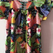 Vestido florido fábula - 3 anos - Fábula