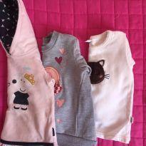 Lote blusas  Moletom - 3 anos - Malwee e Kily