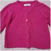Casaco Basic + rosa - 24 a 36 meses - Basic+ Kids