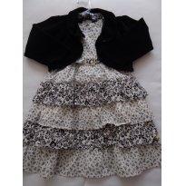 Vestido com casaquinho - 2 anos - Anjos baby