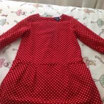 Vestido gap veludo - 3 anos - Baby Gap