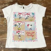 Camiseta Lilica Branca 2 - 2 anos - Lilica Ripilica