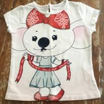 Camiseta Lilica Branca - 2 anos - Lilica Ripilica