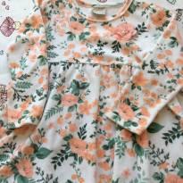 Vestido floral - 3 anos - Milon