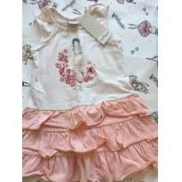 Vestido babados Milon - 3 anos - Milon