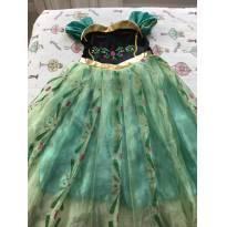 Vestido Anna Frozen - 4 anos - Não informada