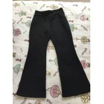 Calça preta - 4 anos - ponderado