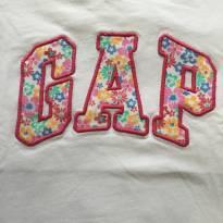 Camiseta flores gap - 4 anos - GAP