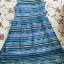 Vestido listras azul - 6 anos - Wonder Kids - USA
