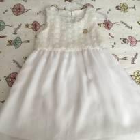 Vestido branco Milon - 4 anos - Milon