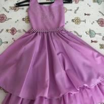 Vestido de festa - 4 anos - Não informada