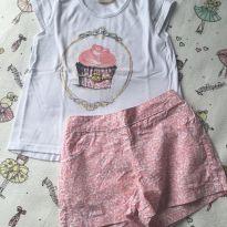 Conjunto cupcake Milon - 4 anos - Milon