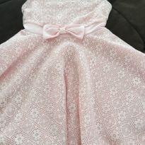 Vestido importado rosa claro - 4 anos - Importada