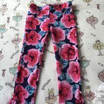 Calça floral Gymboree - 5 anos - Gymboree