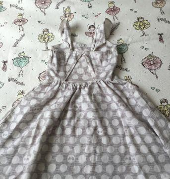 Vestido lilica cinza - 6 anos - Lilica Ripilica