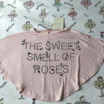 Blusa manga ampla - 6 anos - Petit Cherie