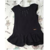 Blusa preta lilica - 6 anos - Lilica Ripilica