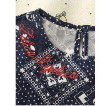 Blusa lilica estampada - 6 anos - Lilica Ripilica