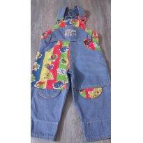 Jardineira Jeans - 2 anos - Não informada
