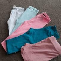 legging 3/4 com shorts free - 4 anos - H&M