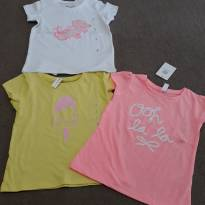 kit camisetas - 2 anos - Importada
