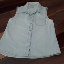 colete jeans - 10 anos - Palomino